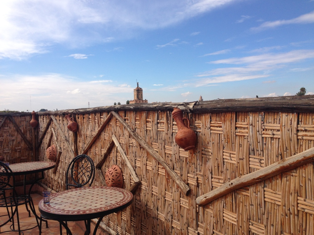 The roof top in my Riad